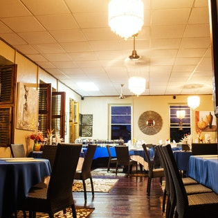 The Great Old House Restaurant , Roseau, Dominica