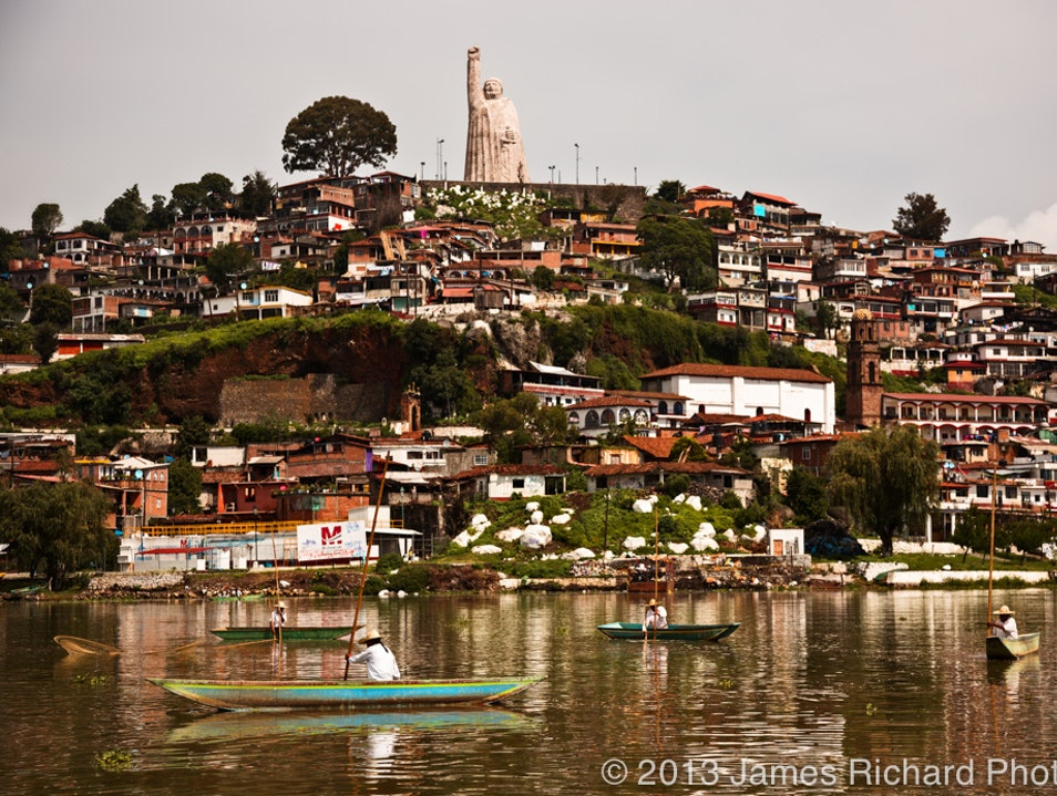 Visiting the enchanting island of Janitzio on Lago Patzcuaro Janitzio  Mexico
