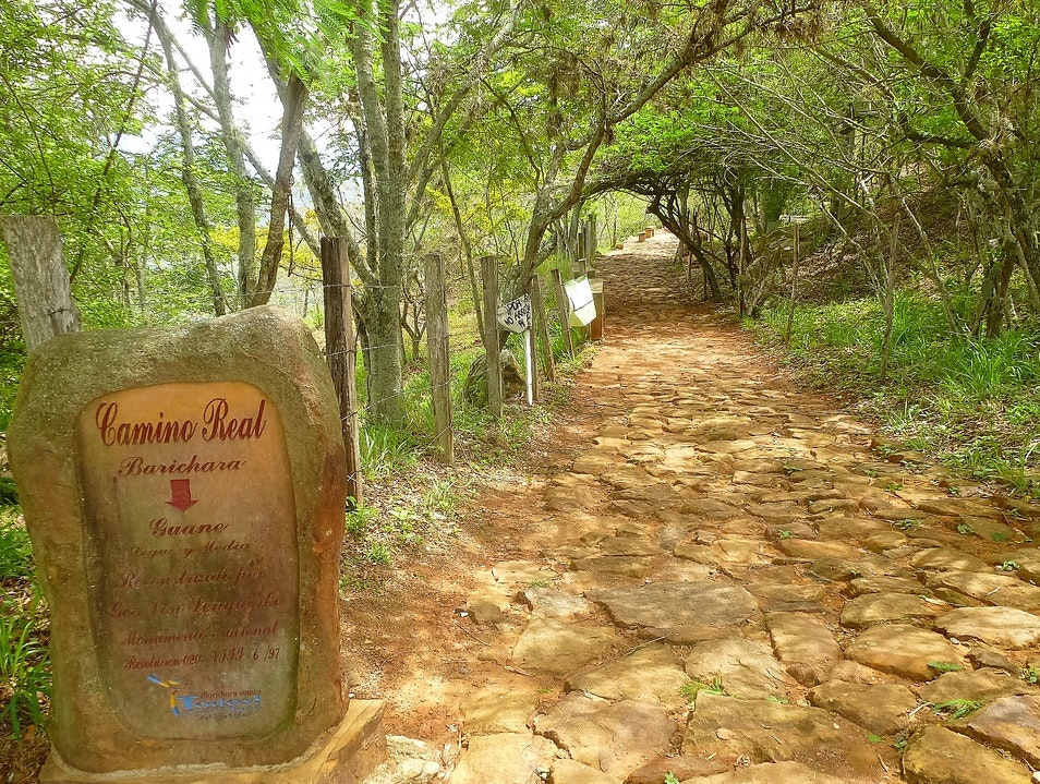 Rimming the Chicamocha Canyon and Sauntering the 150 Year Old Camino Real Barichara  Colombia
