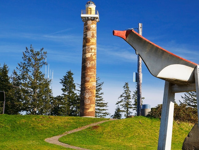Climb the Astoria Column
