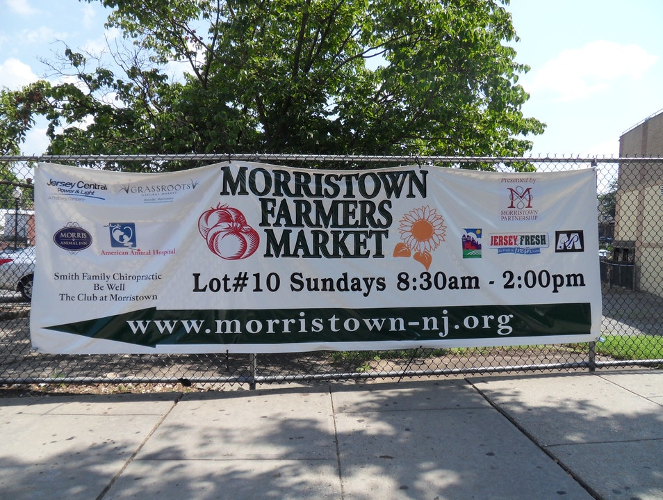 Morristown Farmers Market Morristown New Jersey United States