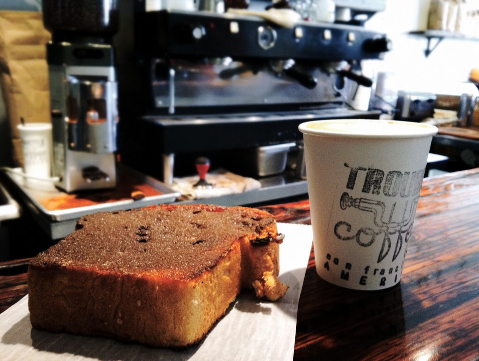 Take Some Toast with Your Coffee San Francisco California United States