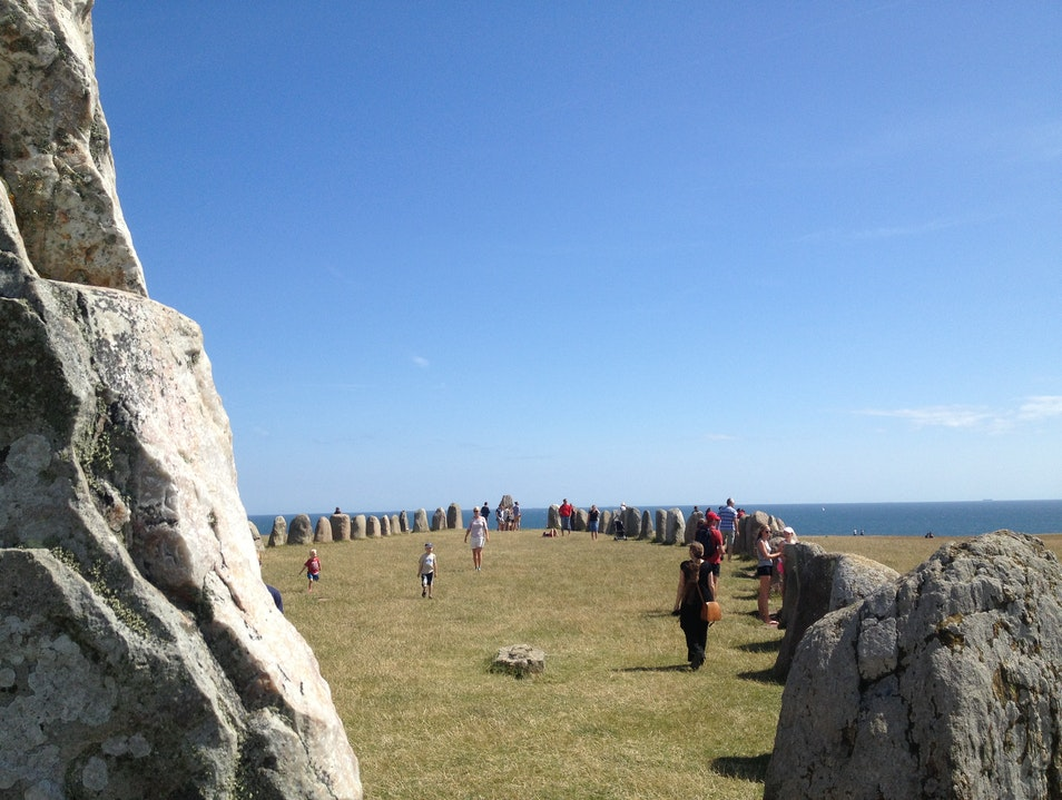 The Swedish Stonehenge Ystad S  Sweden