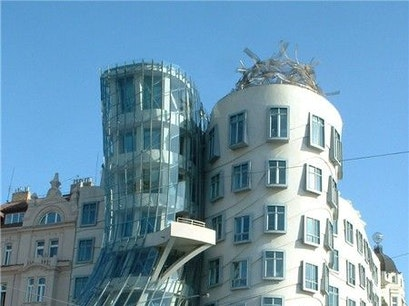 Dancing House Prague  Czech Republic