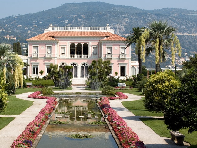 Villas Ephrussi de Rothschild and Kerylos