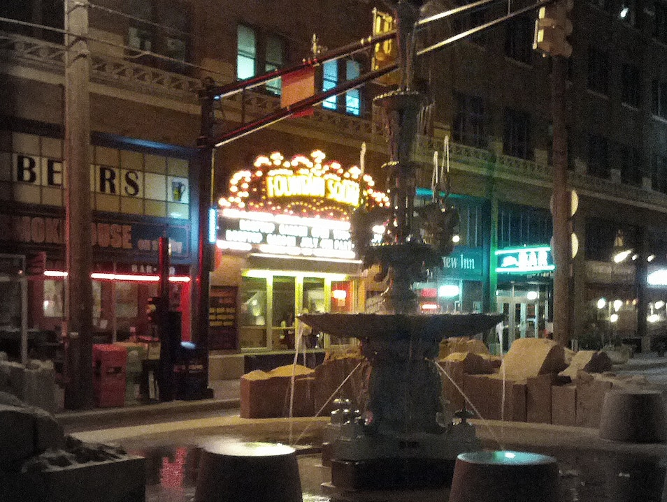 Fountain Square: Indy's Hippest Neighborhood Indianapolis Indiana United States