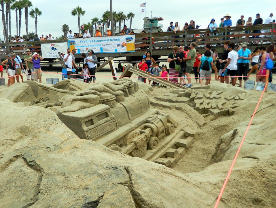 Sun & Sea Festival Sandcastle Competition Imperial Beach California United States