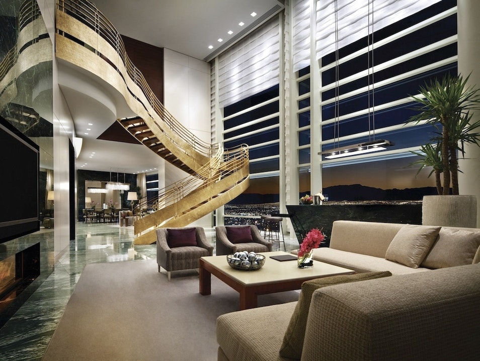 Vegas' most luxe suites set the stage for romance