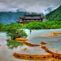 Huanglong National Scenery Spot Aba  China