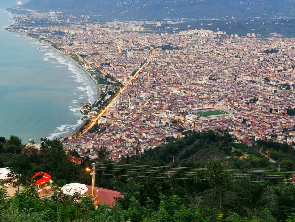 Ortahisar Area The Center Of Trabzon
