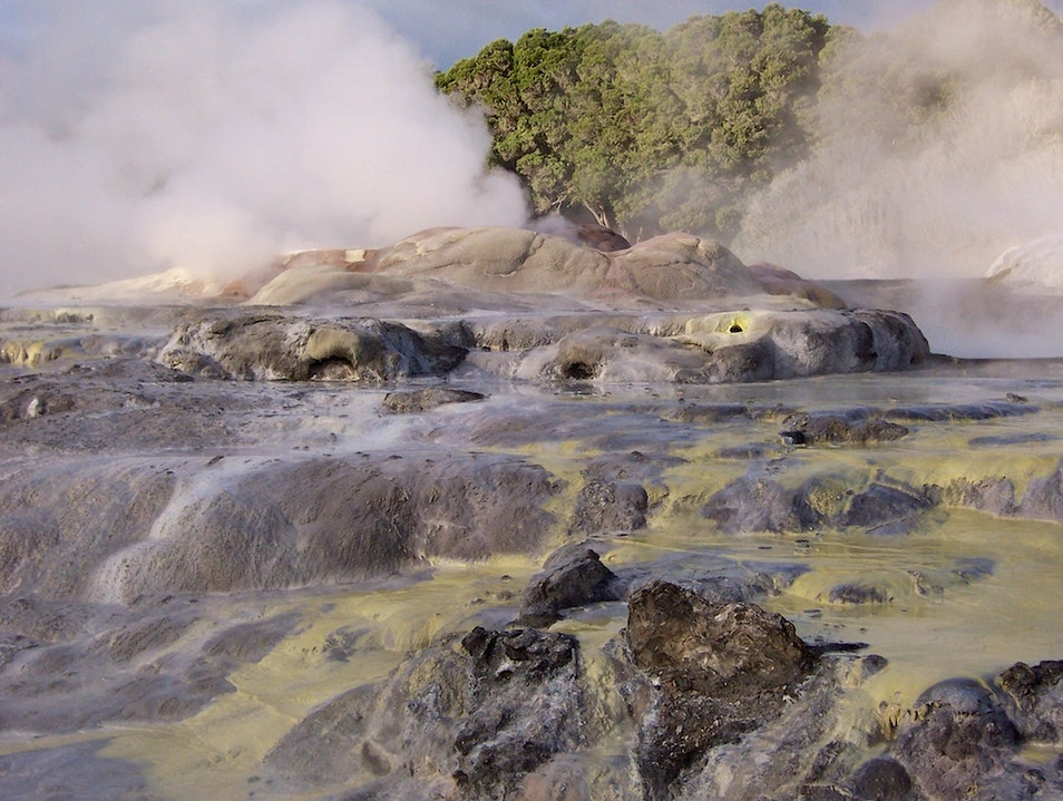 Thermal Landscapes and Native Arts & Crafts in Rotorua