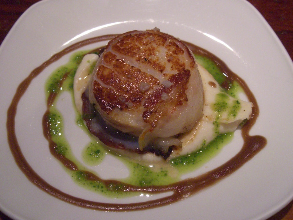 A Perfect Scallop San Sebastian  Spain
