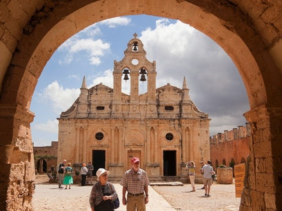 Arkadi Monastery Moni Arkadiou  Greece