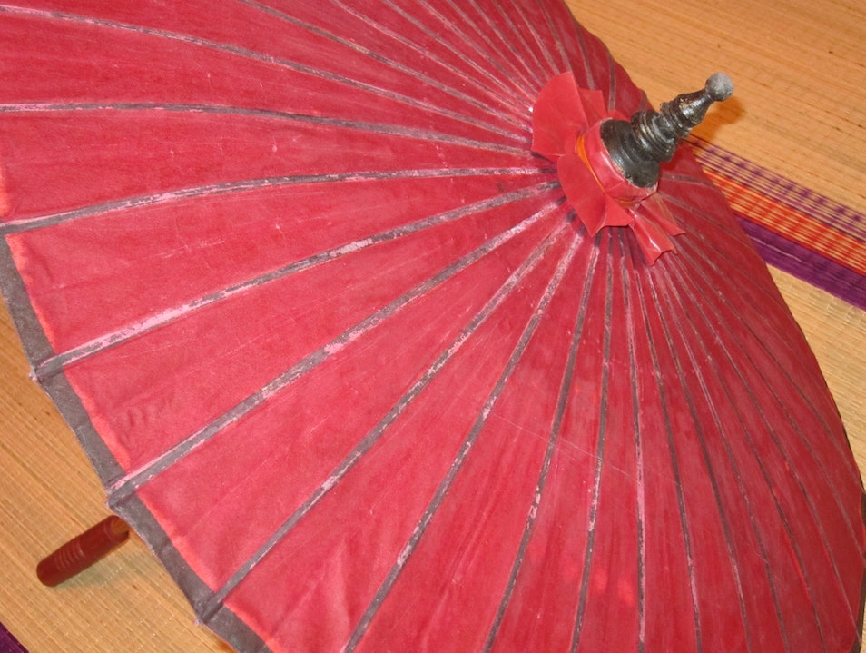 Umbrella Bago  Myanmar