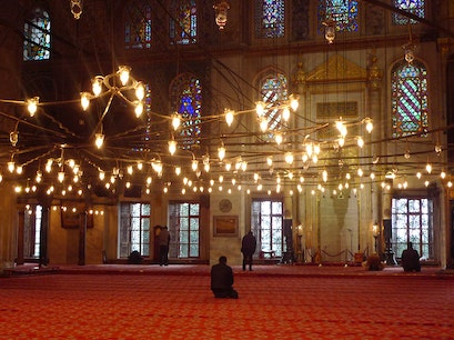 New Mosque Istanbul  Turkey