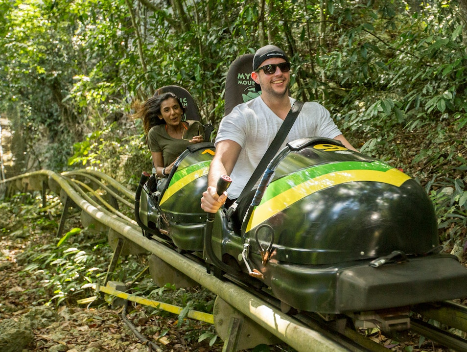 Rainforest Bobsled Jamaica at Mystic Mountain