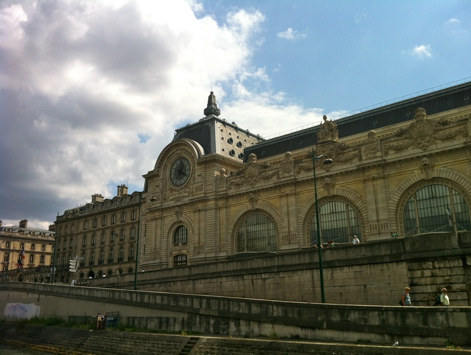 Cruising past Musee D'Orsay Paris  France