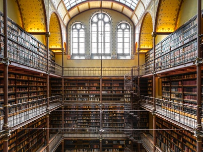 Rijksmuseum Research Library Amsterdam  The Netherlands