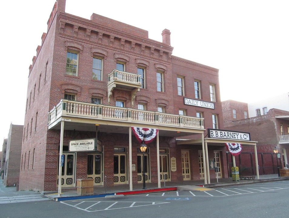 Experiencing California's Past in Old Sacramento