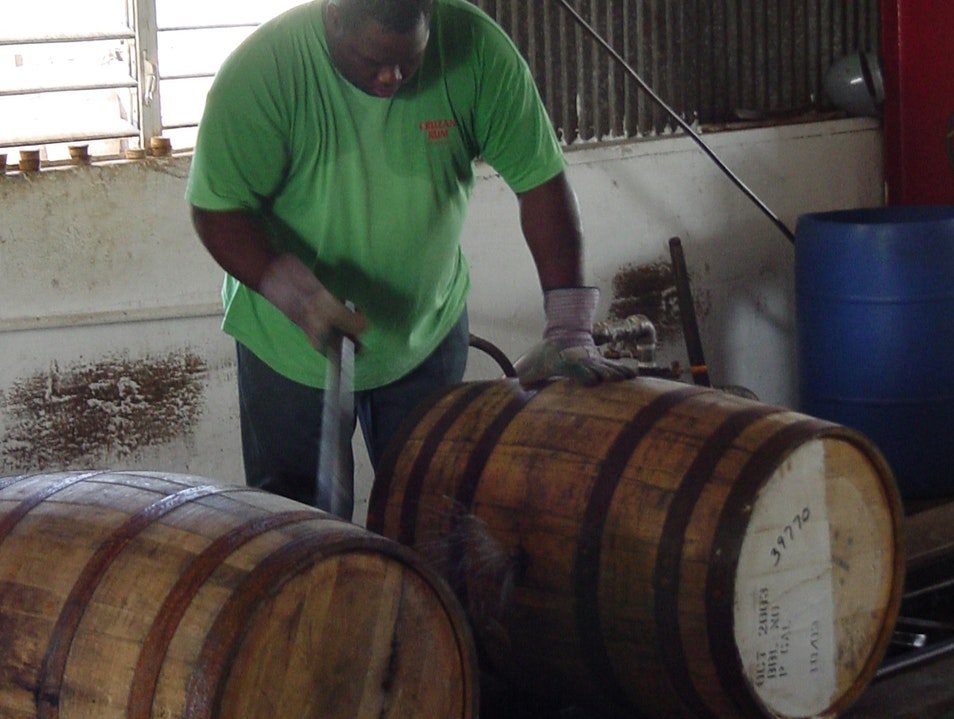 Cruzan Rum Distillery Frederiksted  United States Virgin Islands