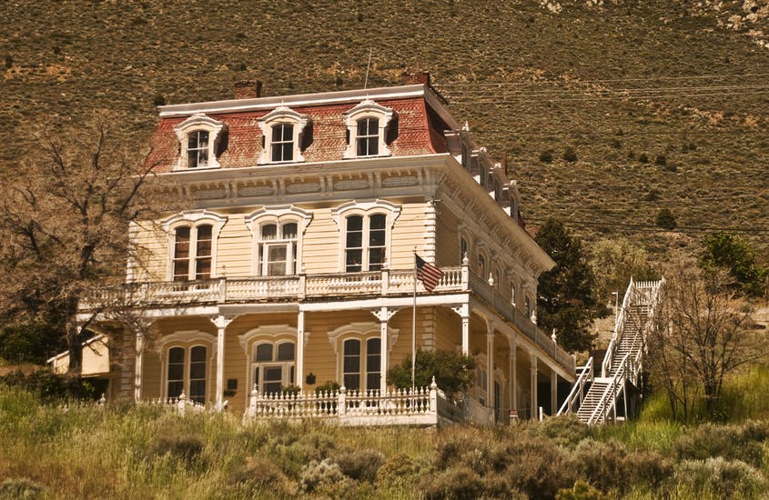 An Old West Victorian from Virginia City, Nevada.