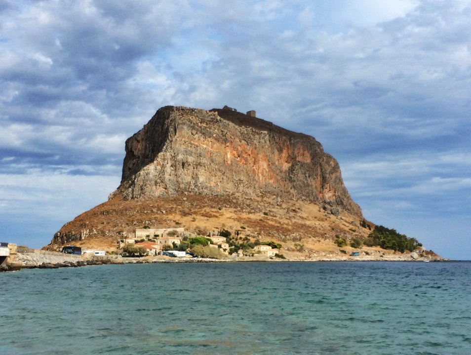Wander a Medieval Island Fortress Laconia  Greece