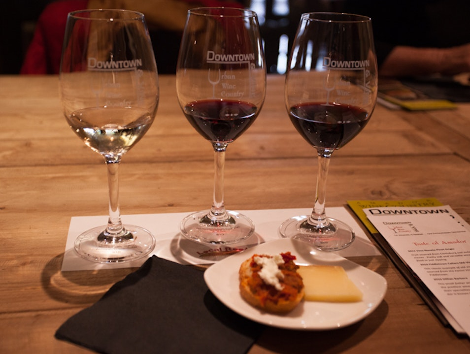 Downtown & Vine: Bringing the Gold Country's Wine to Sacramento Sacramento California United States