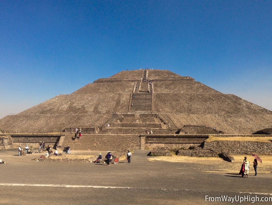 Exploring the Ruins of Teotihuacan State of Mexico  Mexico