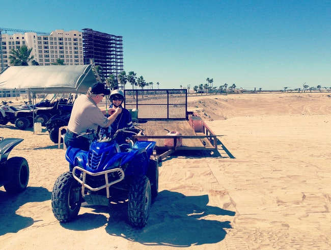 Rent ATV's in Puerto Penasco, Mexico