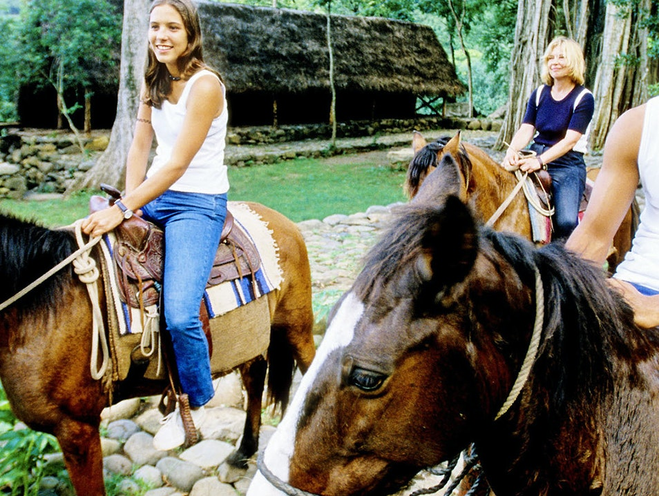 Horseback Riding on Nuku Hiva Northern Group  French Polynesia