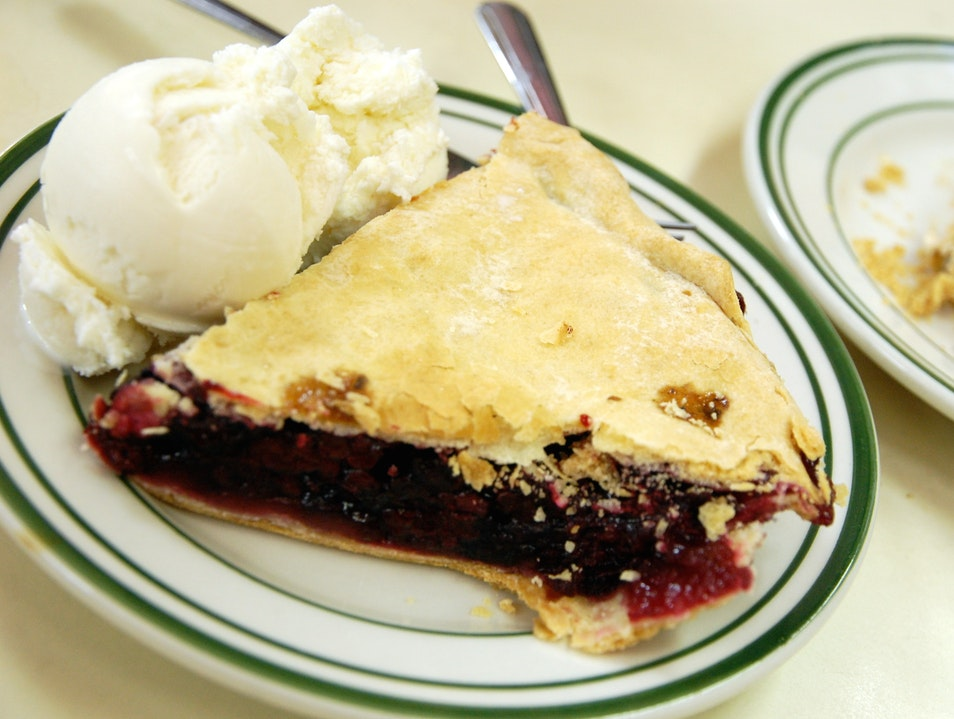 All-American Classic: Juneberry Pie Lunds Landing North Dakota United States