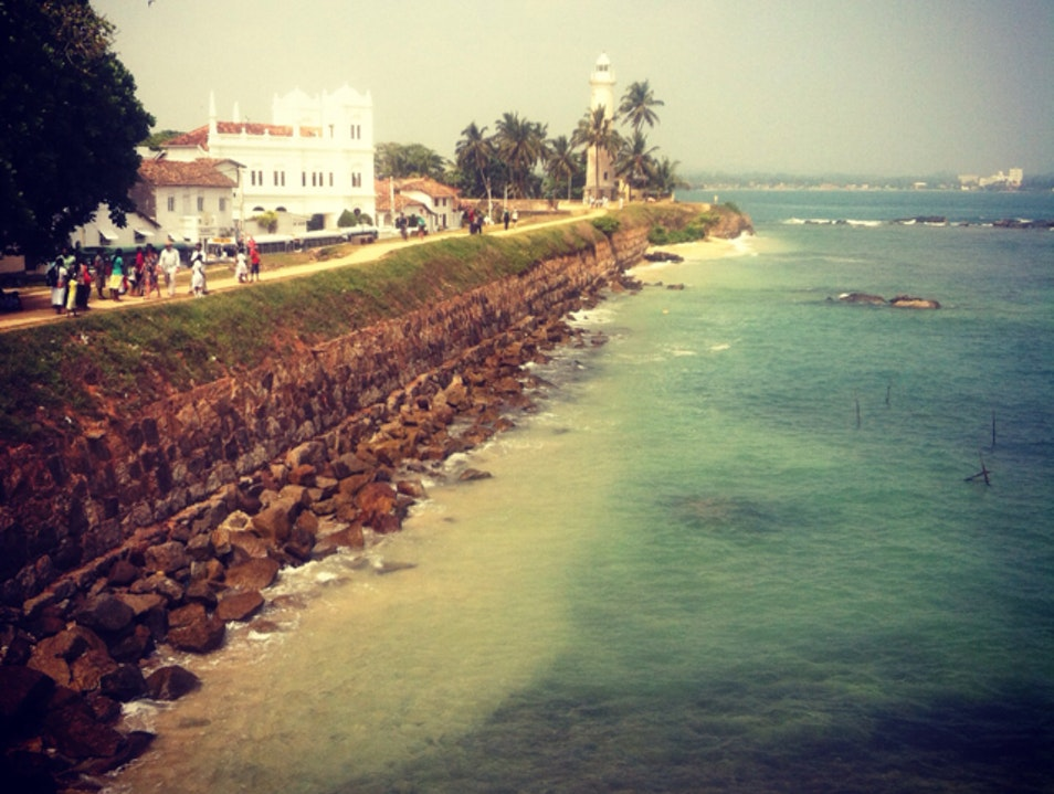 Walking the Fort in Galle Galle  Sri Lanka