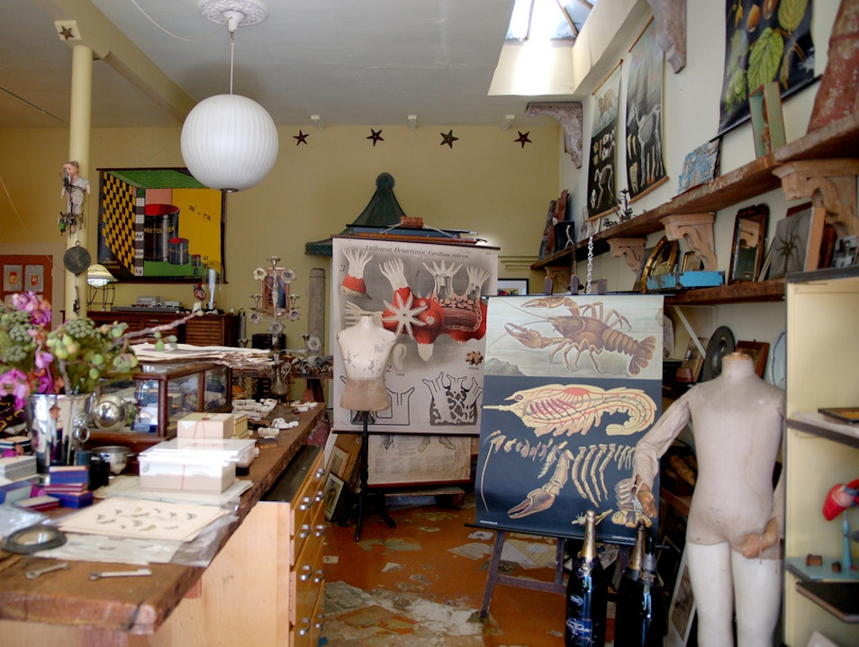 Shop for Antique Oddities in North Beach