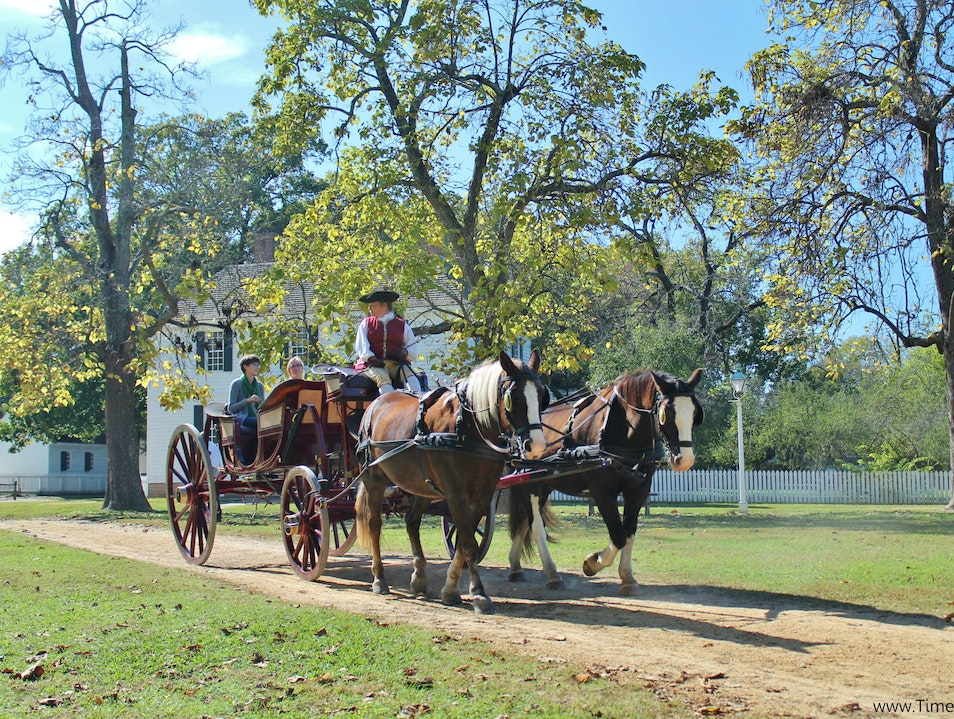 Colonial Williamsburg's Storied Past Williamsburg Virginia United States