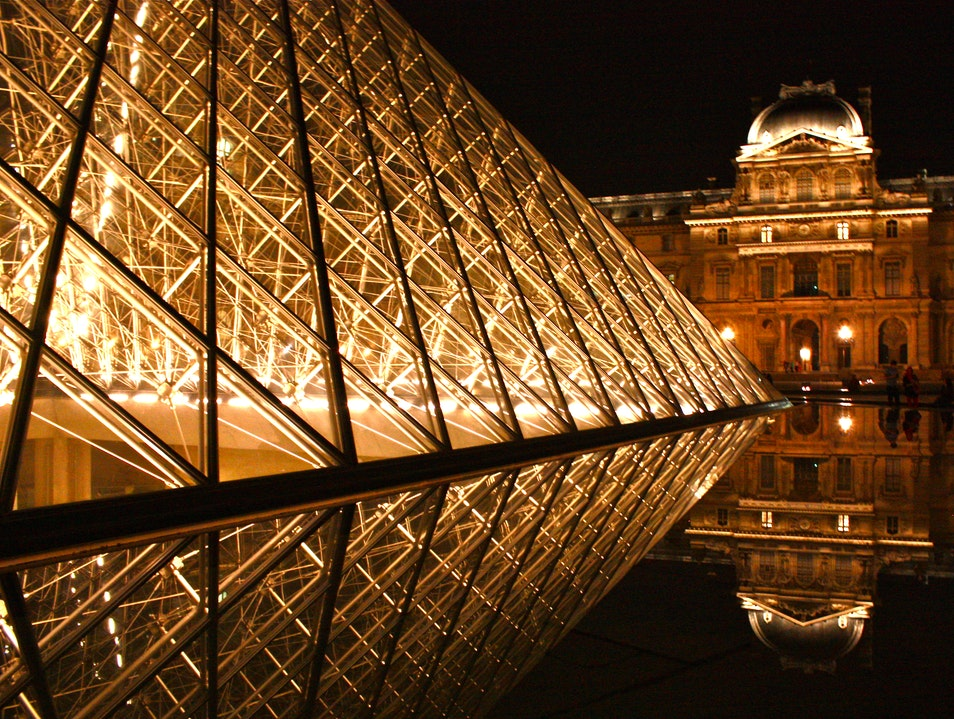 Lights of the Louvre   France