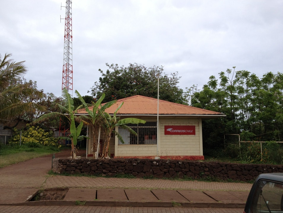 The main Easter Island post office