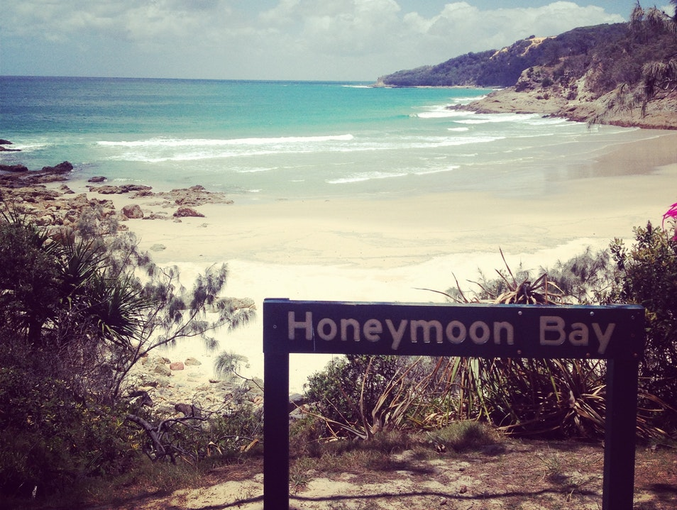 Honeymoon Bay, Moreton Island Moreton Island  Australia