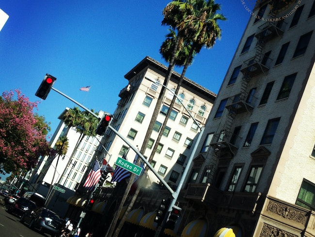 A Shopper's Mecca on Rodeo Drive
