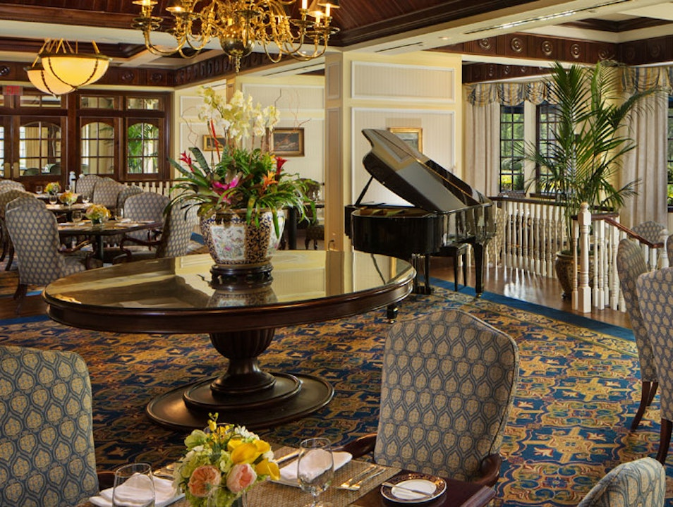 The Fairview Dining Room at the Washington Duke Inn: A Private Club of Your Own  Durham North Carolina United States
