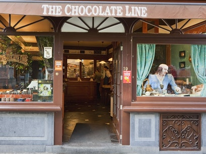 The Chocolate Line Bruges  Belgium
