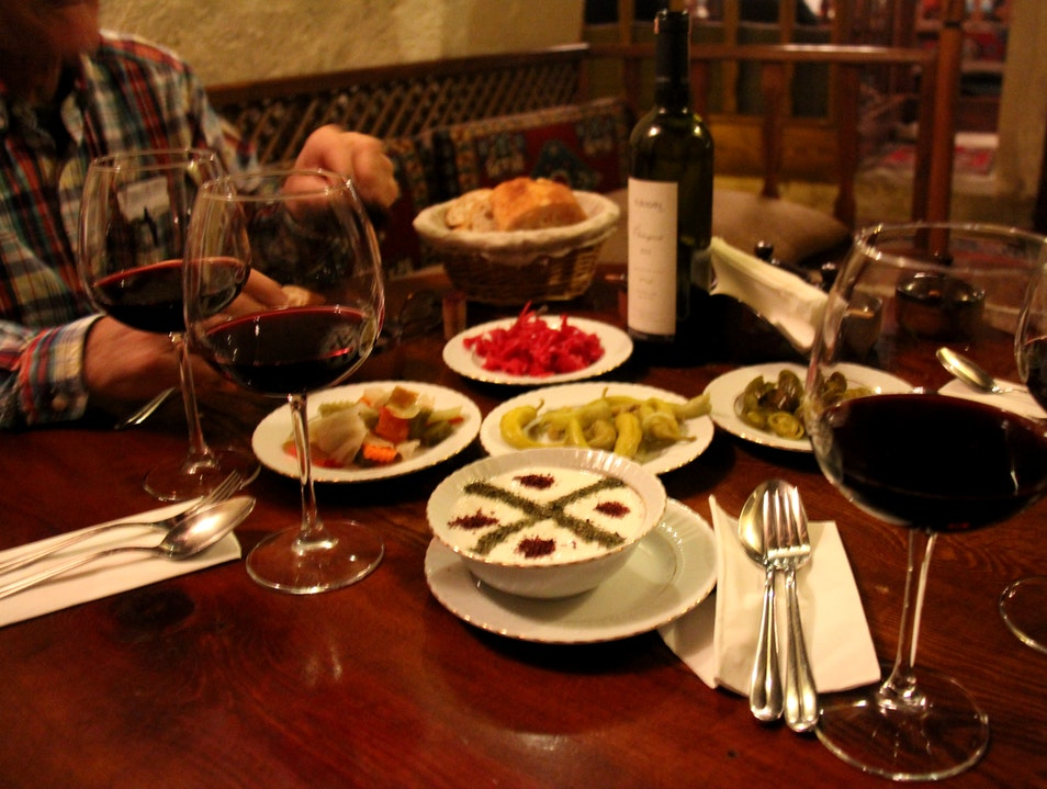 Traditional Dining Experience in Cappadocia