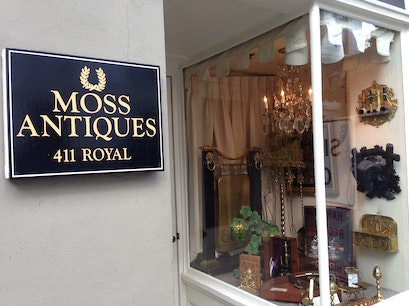 Moss Antiques New Orleans Louisiana United States