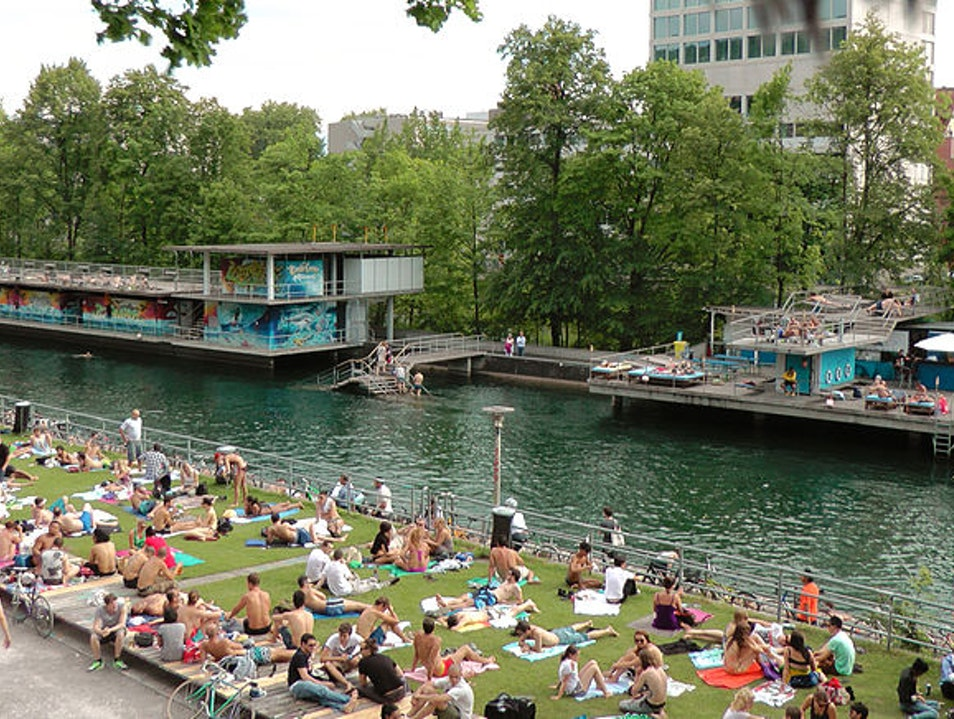 Where the Hip Kids Cool Off in Zurich West Zurich  Switzerland