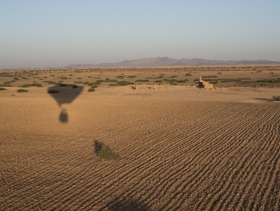 Hot Air Ballooning in Marrakesh Marrakech  Morocco
