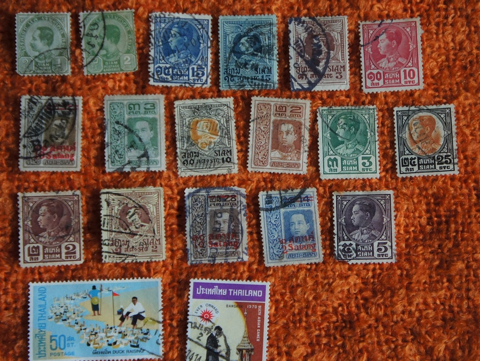 Visit the Postage Stamp Museum Phuket  Thailand