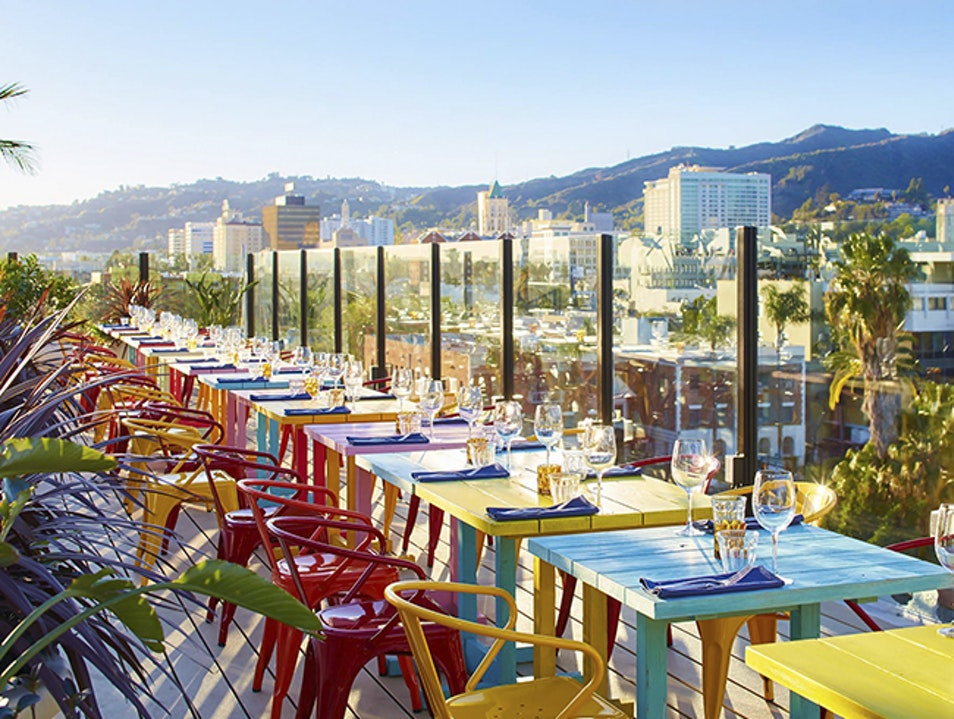 A Rooftop Mingle at Mama Shelter Los Angeles California United States