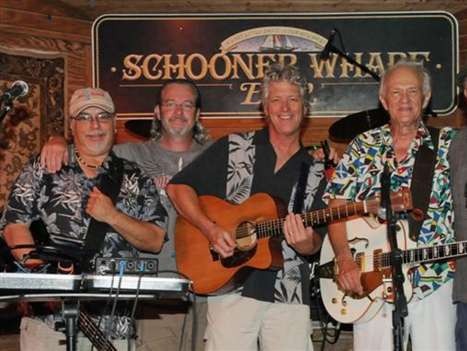 Music and Drinks at Schooner Wharf Key West Florida United States