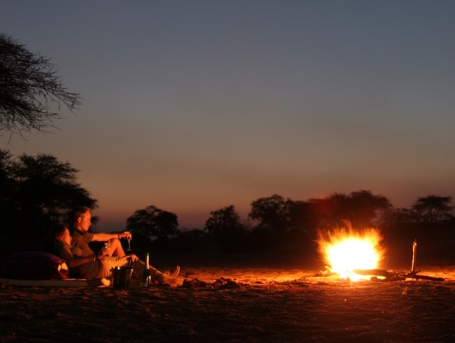 Spend a night under the stars in Ruaha National Park