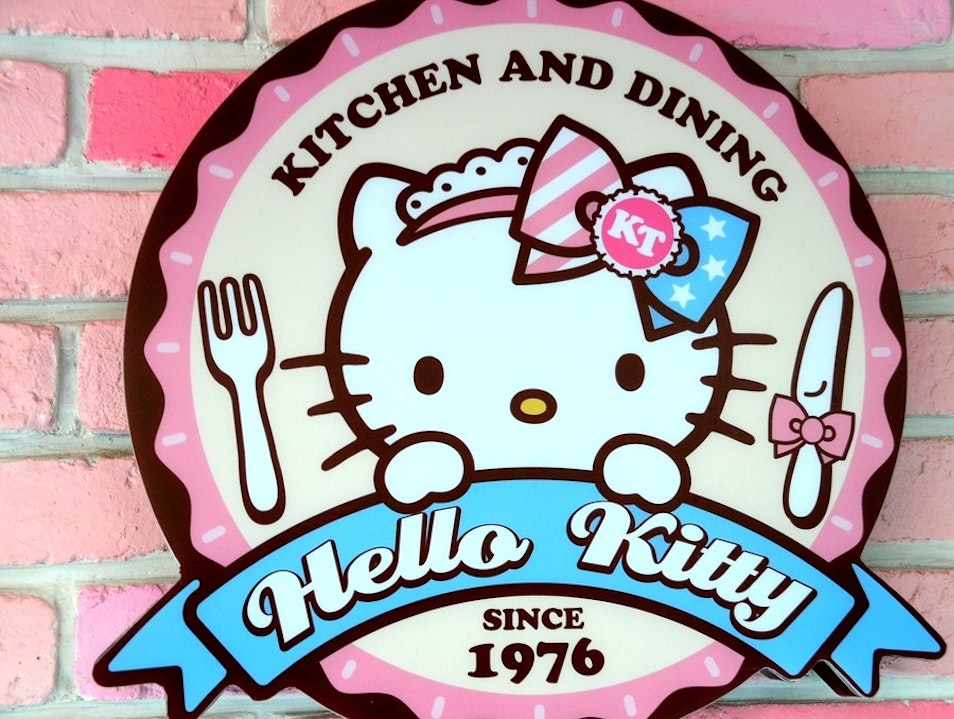 Dinner With Hello Kitty