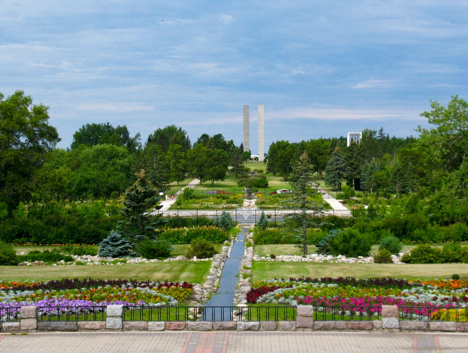 International Peace Garden Dunseith North Dakota United States
